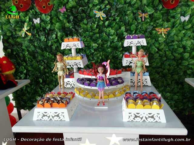 Decoração de aniversário Jardim Encantado - Mesa temática infantil