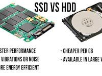 Perbedaan dan Kelebihan Solid State Drive (SSD) vs HDD