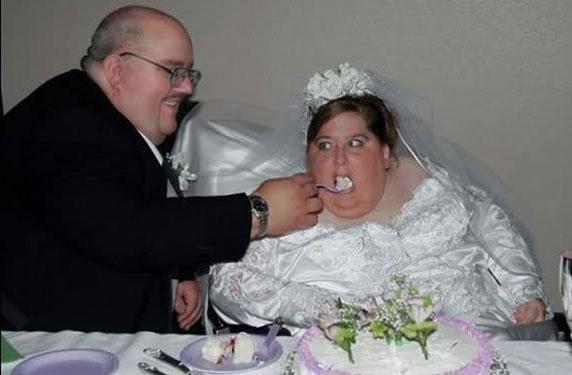 دراسة الرجال المتزوجون من نساء بدينات أكثر سعادة ب10 اضعاف من غيرهم؟