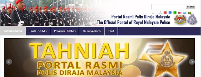 Rasmi - Jawatan Kosong di (PDRM) Polis Diraja Malaysia Terkini 2019