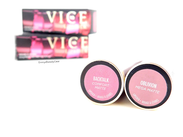 Urban Decay Vice Lipsticks BackTalk Oblivion