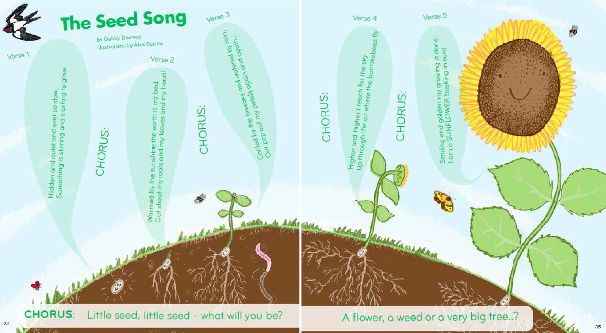 THE SEED SONG SLIGHTLY ANIMATED