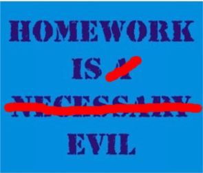 alfie kohn homework an unnecessary evil