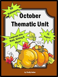 October Thematic Unit Teachers Pay Teachers Promoting-Success