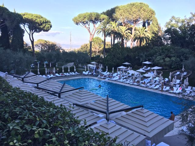 Best Pools in Rome {Rome Cavalieri – Waldorf Astoria Hotels & Resorts}