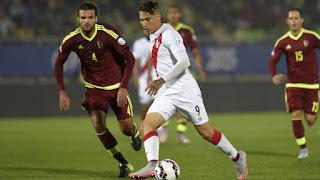 Venezuela vs  Perú en Eliminatorias Sudamericanas, Fecha 13