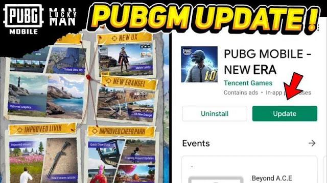 PUBG Mobile genel sürüm 1.0 güncellemesini paket hatasını ayrıştırmadan nasıl indirebilirim?