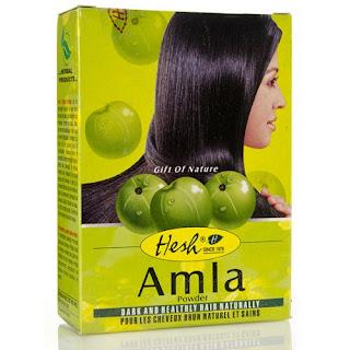 proszek amla do włosów