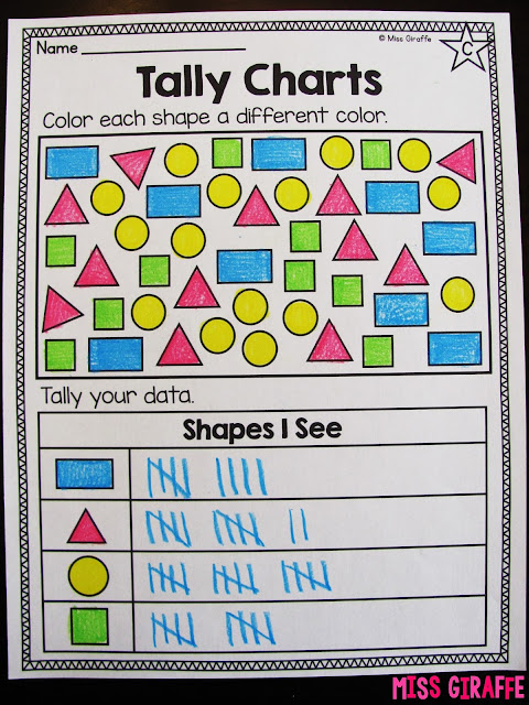 Common Worksheets » Kindergarten Graphs - Preschool and ...