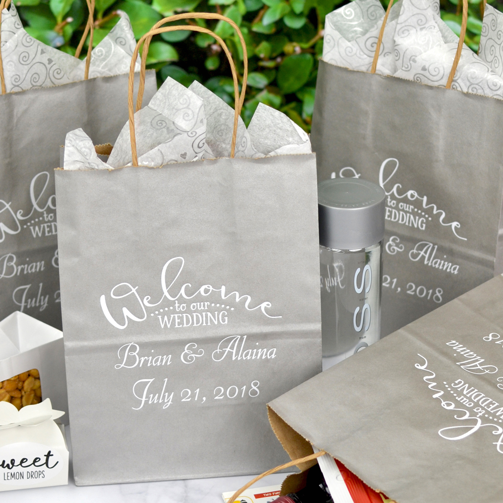 Personalized Wedding Favor Bag