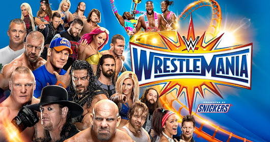 WWE Wrestlemania 33 Show Download