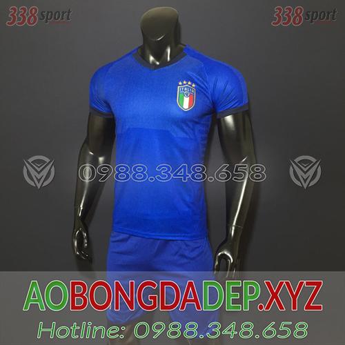 Áo Ý 2019 Sân Nhà Màu Xanh Đẹp