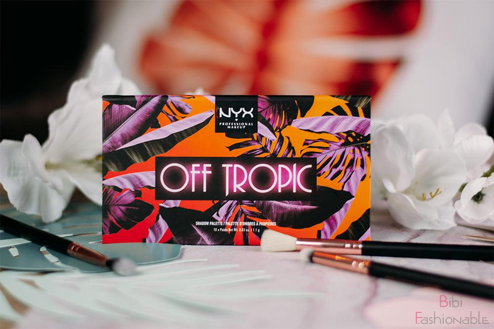 NYX Professional MakeUp Off Tropic Shadow Palette Shifting Sand Titelbild