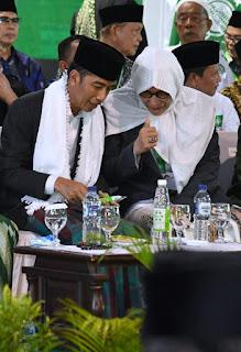 Buka Munas NU, Jokowi Janji Dirikan Seribu BLK untuk Pesantren
