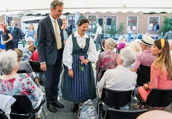 Queen Silvia of Sweden visited Pensioners' Day 2019 event