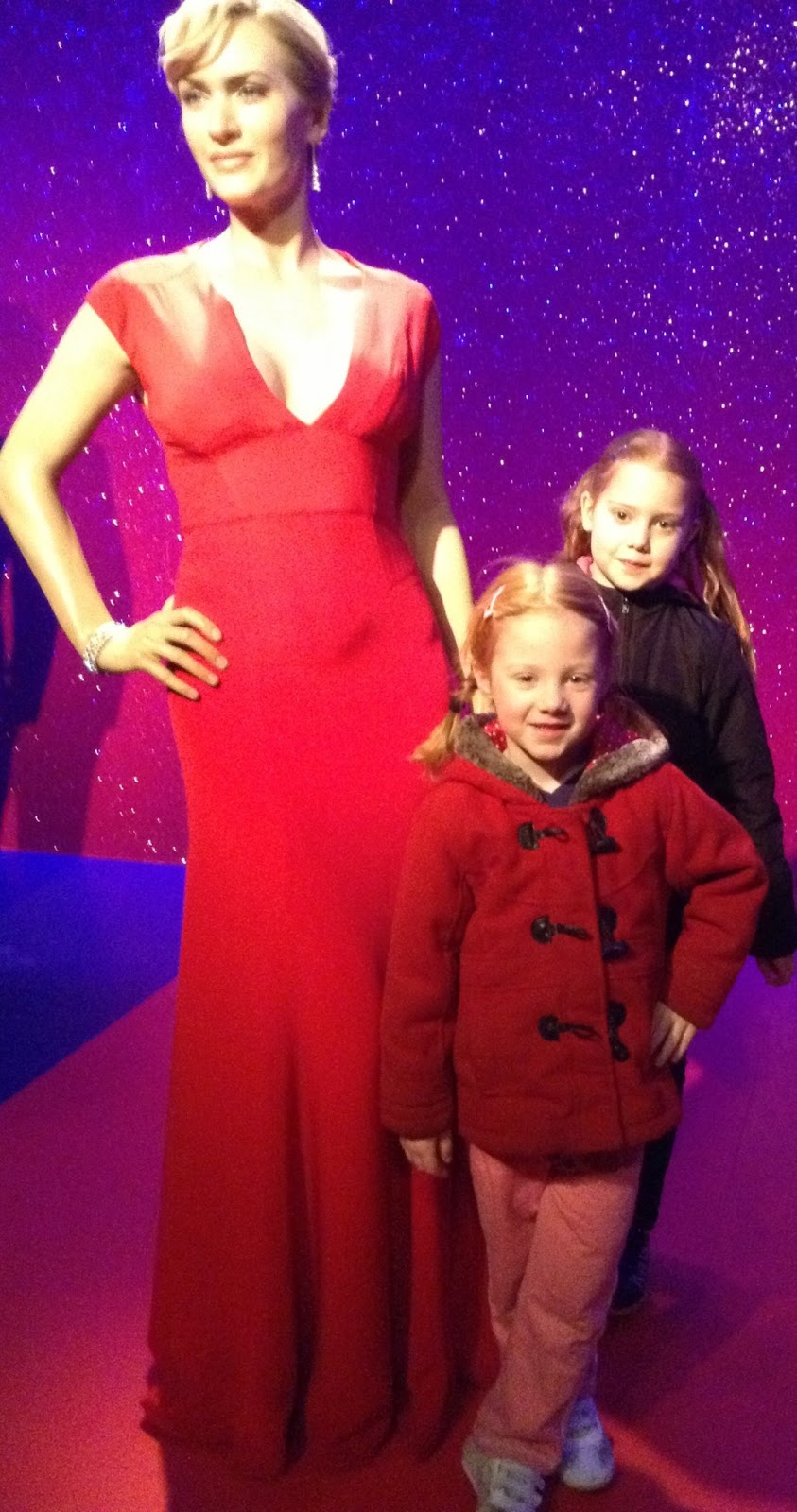 Kids Days Out Reviews: Madame Tussauds, London