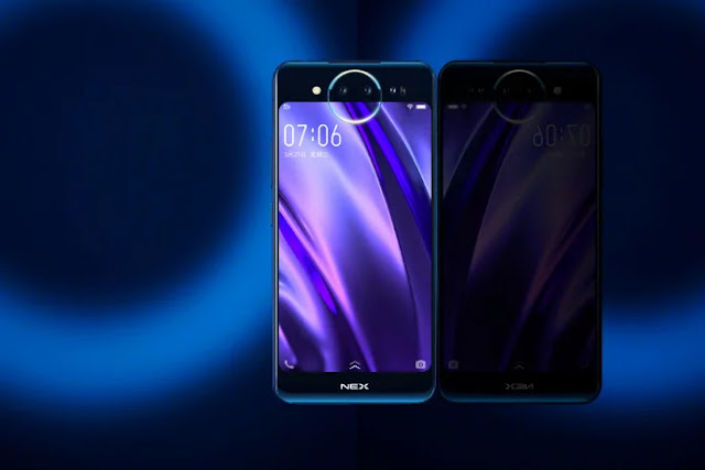 Vivo NEX 2 dengan Layar Ganda dan Triple Kamera Akan Diluncurkan Bulan Ini