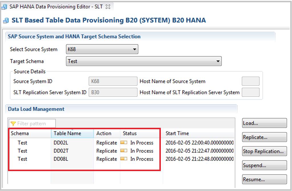 HANA Tutorials: SAP HANA Data Provisioning using SLT Server
