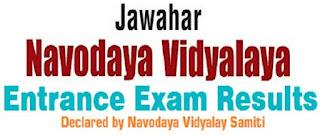 Navodaya Vidyalaya 6th class admission result 201