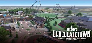 "Hersheypark ""Chocolatetown"" Expansion + Hypercoaster POV"