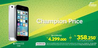 iPhone Champion Price Rp 4.299.000 Untuk iPhone 5s 16 GB