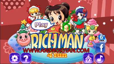 Download Richman 4 Fun Mod Apk + Data v2.7 (All Unlocked/Ads Fee) Terbaru 2017