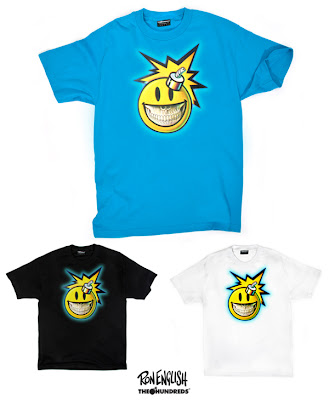 "Ron English x The Hundreds T-Shirt Collection - ""Smiley"""