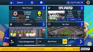 DLS v5.04 Mod FIFA 18 by Damar Apk + Obb