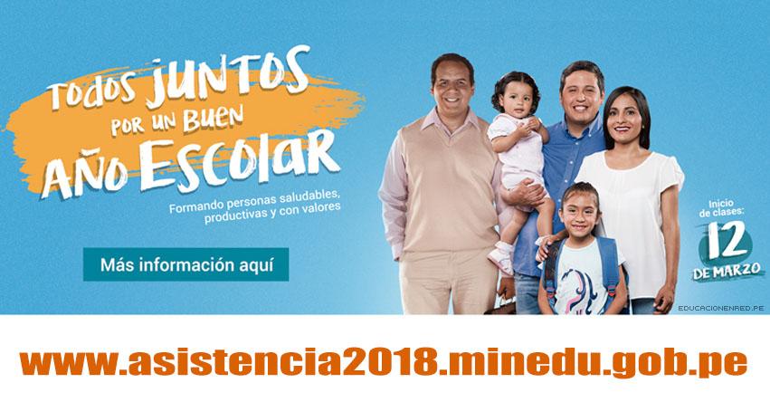 MINEDU: Reporte de Inicio de Clases Escolares «Año Escolar 2018» (Monitoreo de Apertura Lunes 12 Marzo) www.minedu.gob.pe