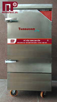 Tủ nấu cơm công nghiệp 12 khay điện