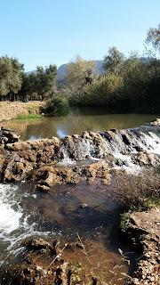 Parte alta de las Cascadas de Ouzoud