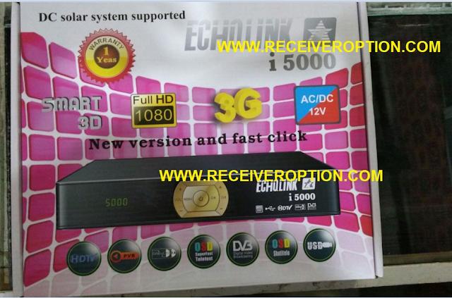 ECHOLINK I 5000 HD RECEIVER BISS KEY OPTION