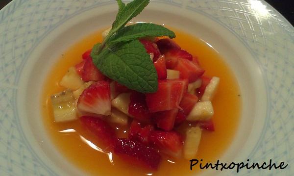desayunos, macedonia de frutas