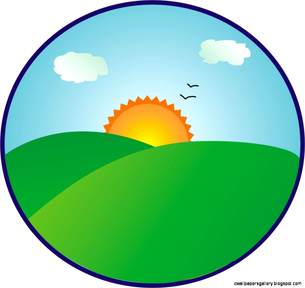 Morning Sunrise Clipart | Wallpapers Gallery