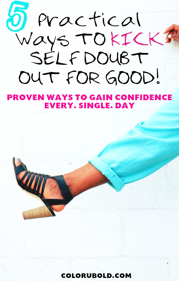 How to gain confidence every day