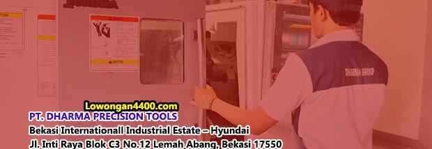 Lowongan Kerja PT. Dharma Precision Tools Cikarang