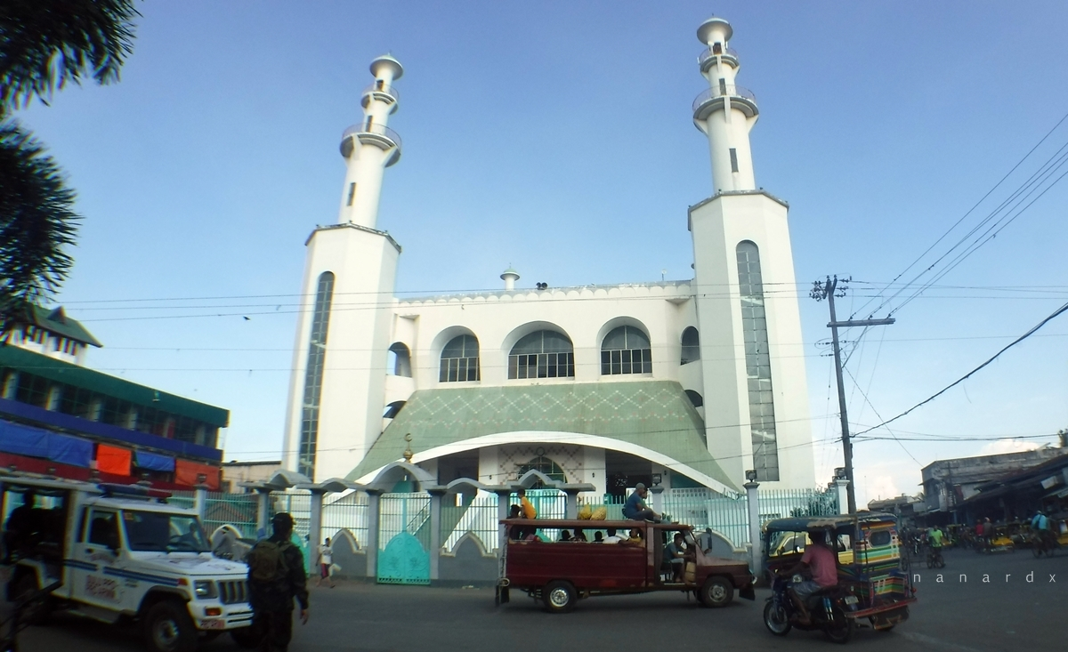 Masjid Tulay, biggest and oldest mosque in Jolo, Sulu