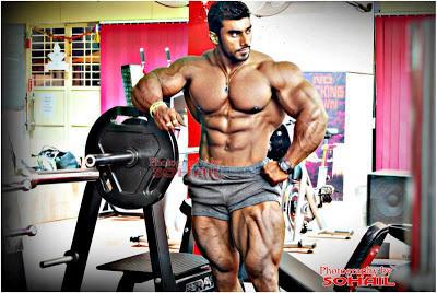 Sangram Chougale Bodybuilder In India