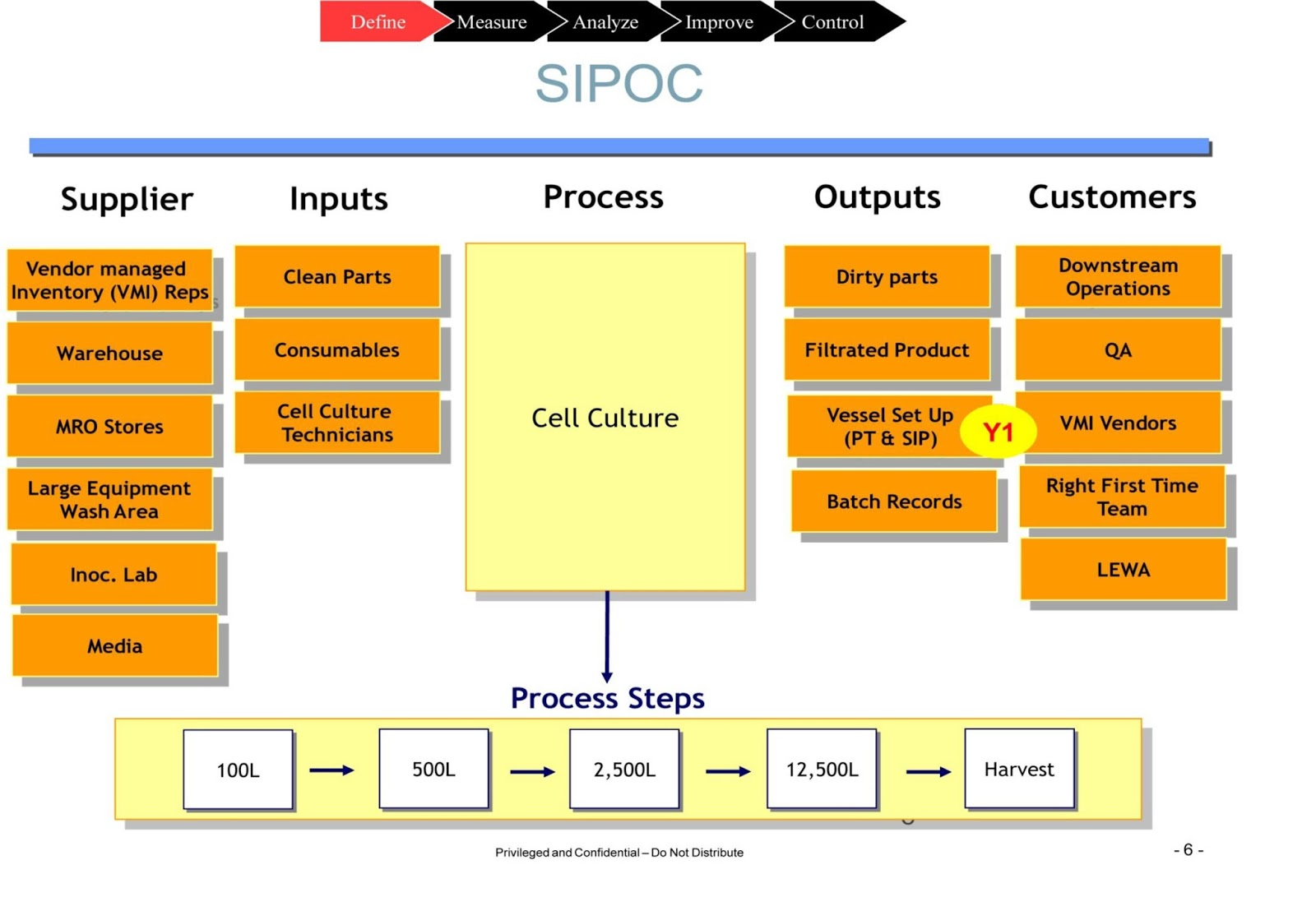 Lean Project: The Introduction of 5S into Cell Culture