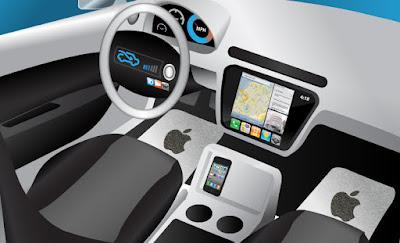 auto elettrica senza pilota apple