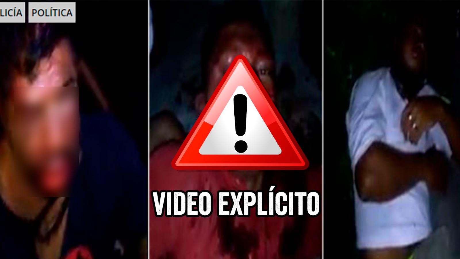 Taxistas cansados de asaltos y asesinatos a sus colegas hacen justicia y dan tremenda golpiza a asaltantes (VIDEO).