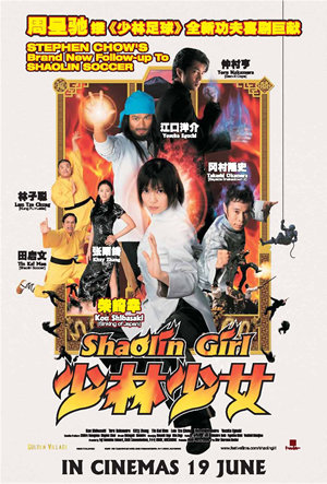Shaolin Girl (2008) Hindi Dubbed 480p BRRip 300mb