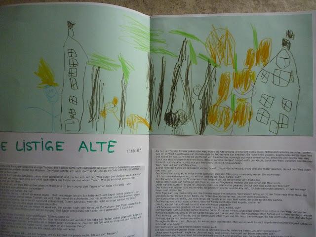 Kürbisgeschichte im Kindergarten erzählen