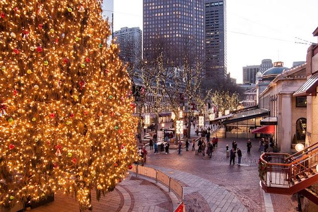 Compras no Natal em Boston