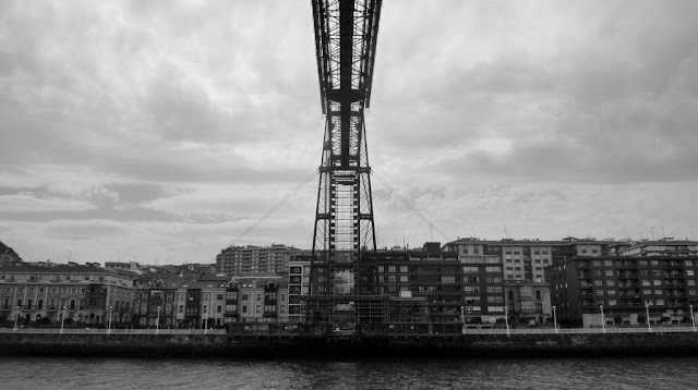 Camino de Santiago del Norte El puente colgante