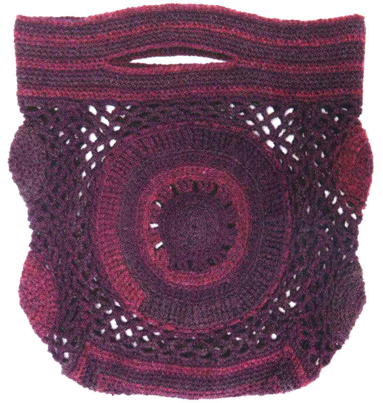 Ажурная сумка. Openwork Bag - crochet