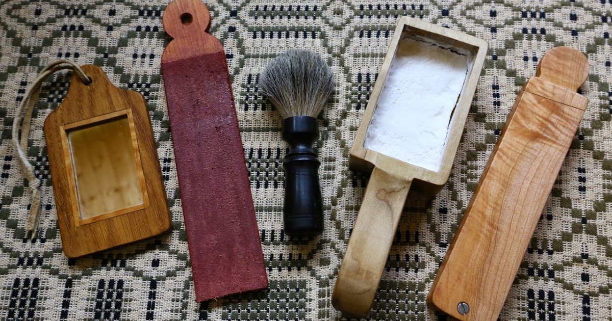 Contemporary Makers 18th Century Shaving Kit By Manfred