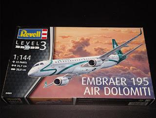 Embraer 195 - Air Dolomiti 1/144