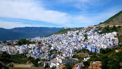 Chefchaouen, Kota Dua Tanduk Berwarna Biru Dari Maroko