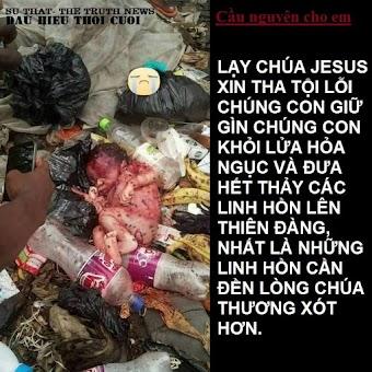 Những ai liên quan đến Phá Thai sẽ bị đốt cháy trong Hỏa Ngục